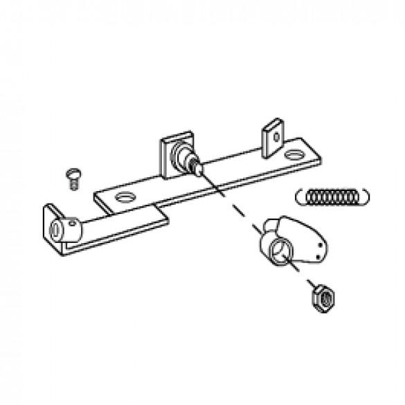 Throttle Bracket Assembly, 5 HP B&S Standard & B&S Industrial/Commercial - Little Beaver 3085-A