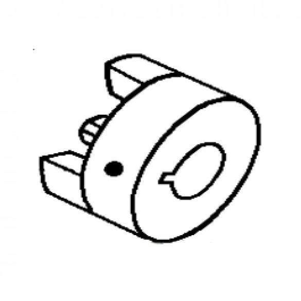 """Flexible Coupling, 1-1/8"""" Bore, Engine End - Little Beaver 30268-W"""