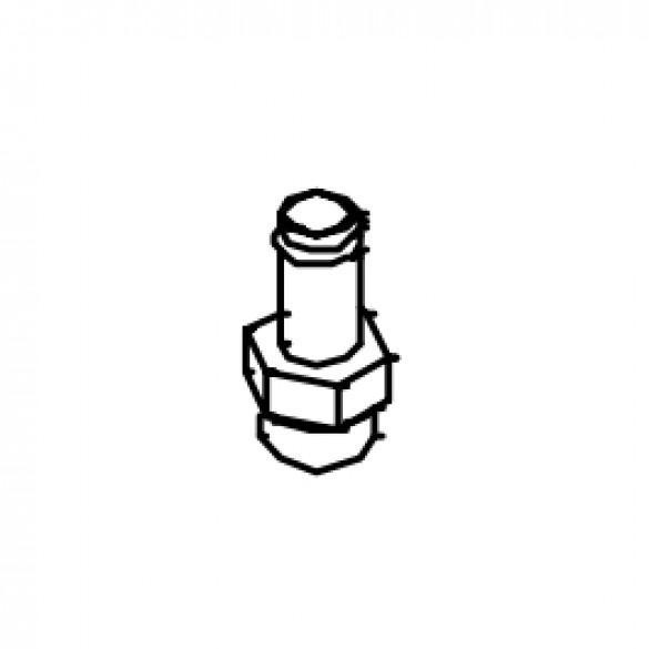 Adaptor, Straight 1-1/16 O-Ring x 3/4 Beaded Hose - Little Beaver 37161