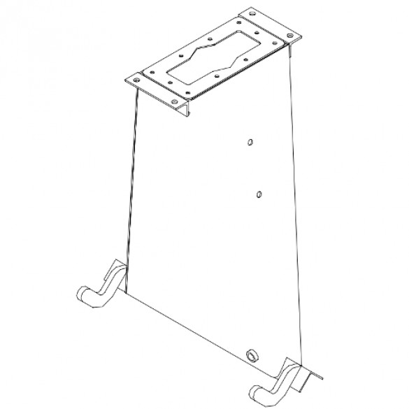 Hydraulic Tank Weldment - Little Beaver 37006