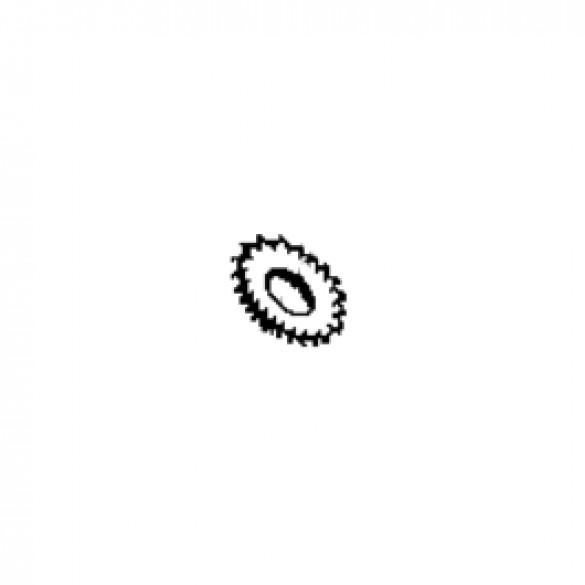 Lock Washer, #10 External Star Plated - Little Beaver 4034-2