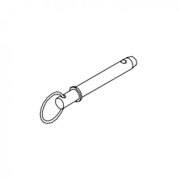 Pin, Ball Lock with Ring, 3/8 - Little Beaver 37181