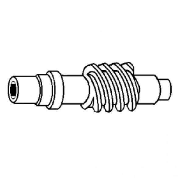 Pinion Gear Shaft, 13:1 Ratio (Gear/Shaft Combination) - Little Beaver 10196