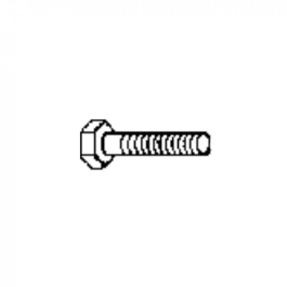 "Bolt, Hex NC, 5/16"" x 2"" Plated GR5 - Little Beaver 3010-9"