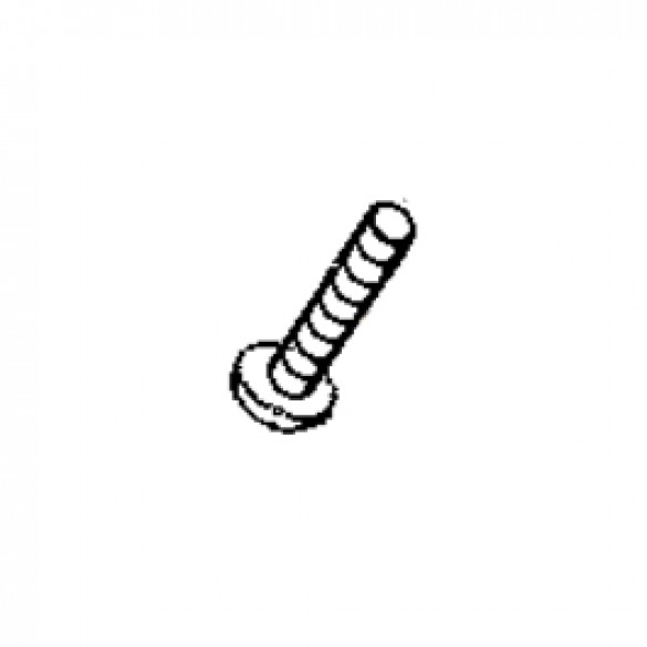 Machine Screw, 10-32 x 5/8 Round Plated - Little Beaver 4034-A