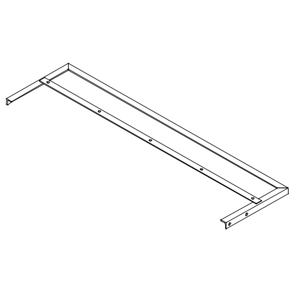 "Weldment, Skirt Frame 34"" for KT2400B - Little Beaver KT2412"