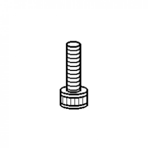 "Socket Head Screw, NC, 1/4"" x 1"", Nylok Plug - Little Beaver 30010"