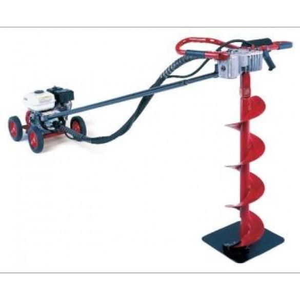 Little Beaver Earth Drill, 5 HP B&S Intek-Pro Rick Sha with 20:1 Transmission - MDL-5B25