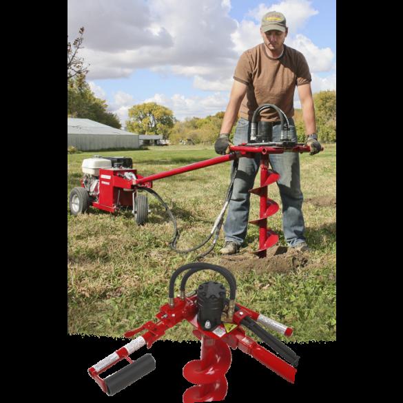 Little Beaver Hydraulic One Man Handle for Hydraulic Earth Drills - HYD-1MH125
