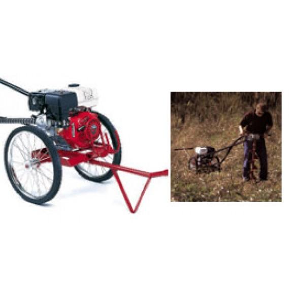 Little Beaver Earth Drill, 8 HP B&S Intek-Pro Rick Sha with 20:1 Transmission - MDL-8B27