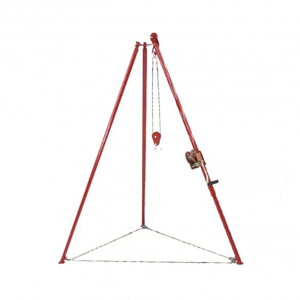 Little Beaver Tripod Auger Lifting Frame for Depths 6' to 30' - TRIPOD KIT