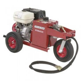 Little Beaver Hydraulic Earth Drill Power Source (With Two-Man Handle) (11 HP Honda GX-340) - HYD-PS11H