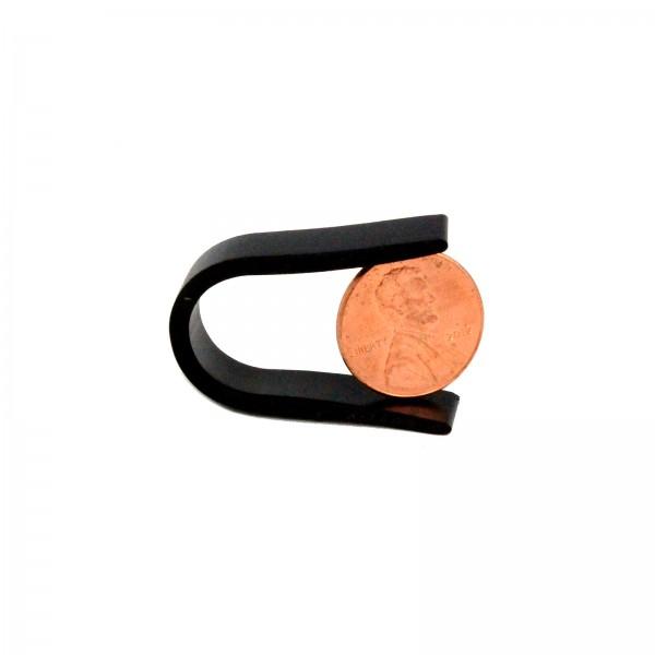 Little Beaver Heavy Duty Pengo Style Rubber Lock (penny shown for scale)