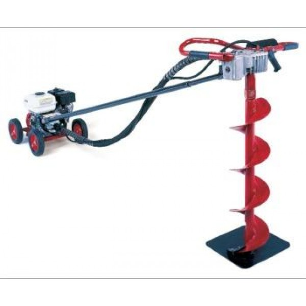 Little Beaver Earth Drill, 5.5HP Honda Engine Rick Sha with 20:1 Transmission - MDL-5H25