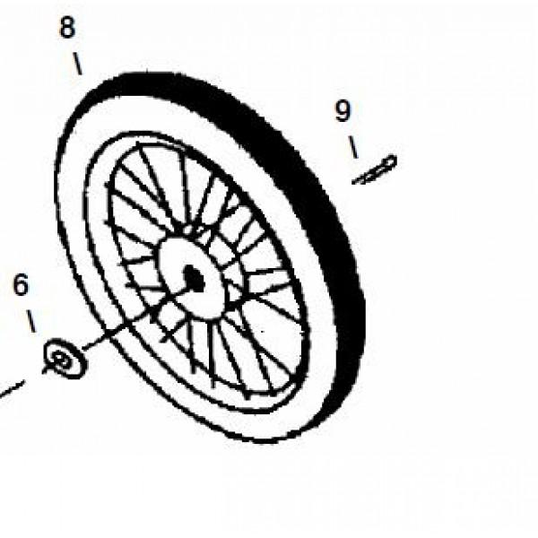 """20"""" Rick Sha Wheel - Little Beaver 6003"""