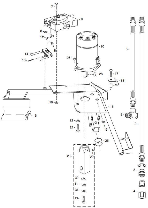 Little Beaver Anchor Handle Part Diagram