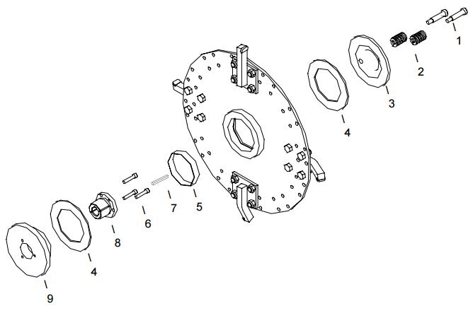 Little Beaver KT1200B Cutter Wheel Assembly Parts Diagram
