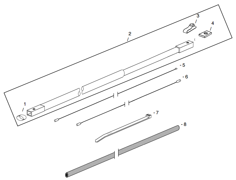 Little Beaver Torque Tube Assembly Hydraulic Part Diagram