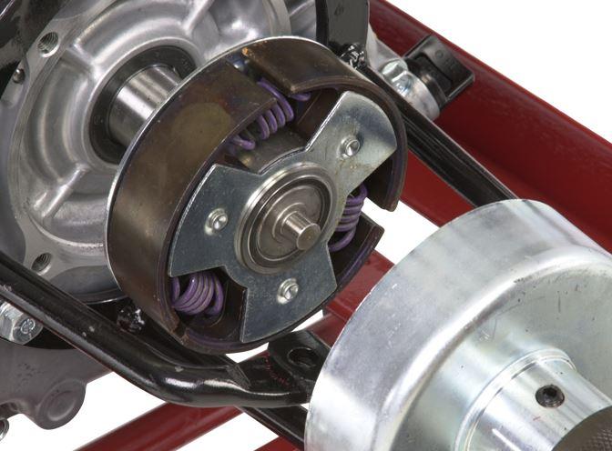 Little Beaver centrifugal clutch