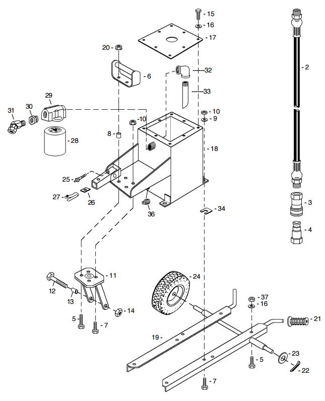 Tank  U0026 Carrier - Hydraulic Earth Drill Parts